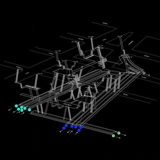 Nyc Subway Map Dark.Wayfinding In Subways 3d Blueprints Show Nyc Tunnel Systems Urbanist