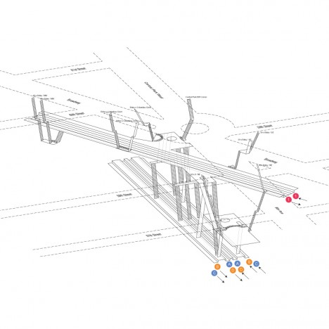 Wayfinding in Subways 3D Blueprints Show NYC Tunnel Systems