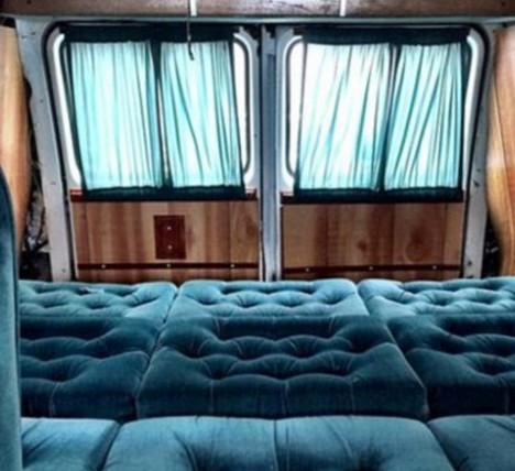 plush truck trunk airbnb