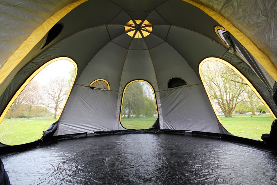 Modular Camping Flexible Pod Tents Connect Subdivide