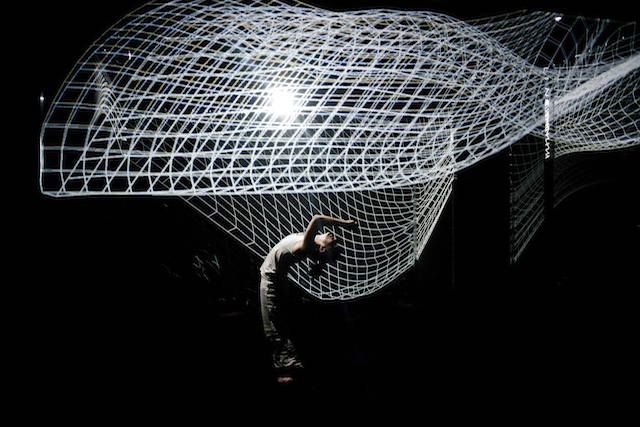 projection mapping dancer 1