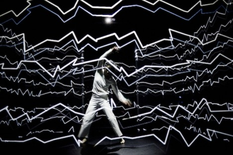 projection mapping dancer 4
