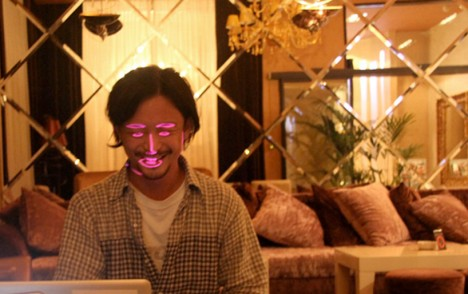 projection mapping faces 2