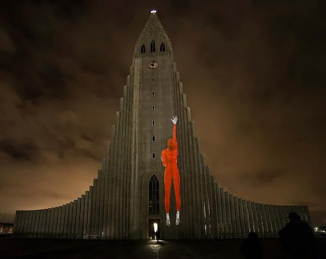 projection mapping iceland 3