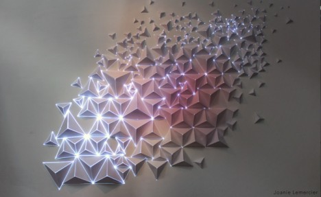 projection mapping origami 1