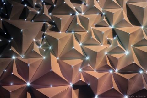 projection mapping origami 2