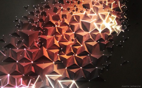 projection mapping origami 3