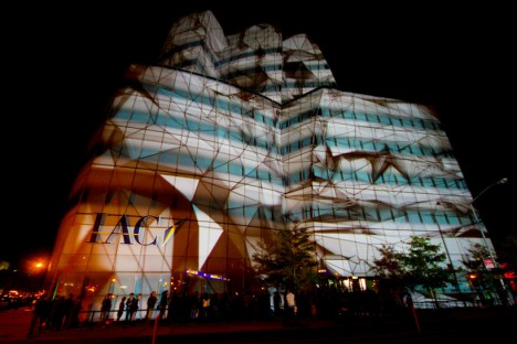 projection mapping seeper