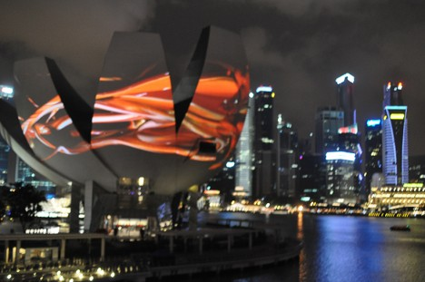 projection mapping singapore 2