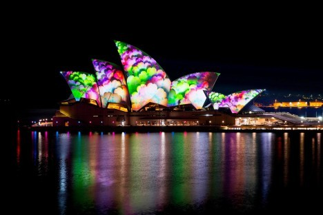 projection mapping sydney 3