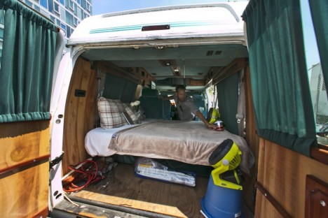 sketchy bed truck bnb