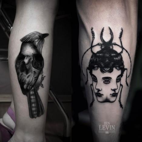 tattoo ien levin 3