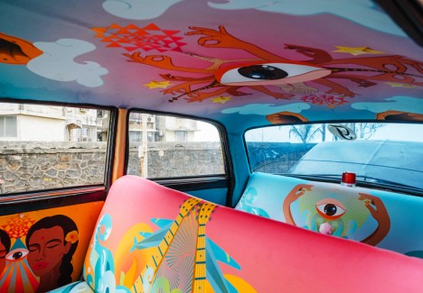 taxi fabric project 10