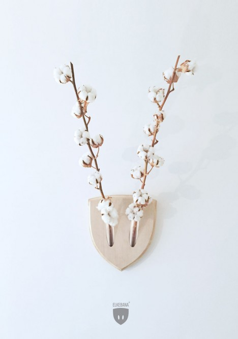wall flower horns design