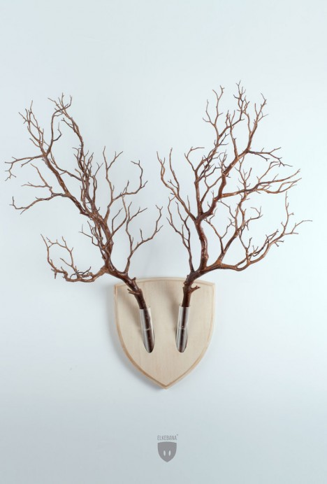 wall mount branches spoof