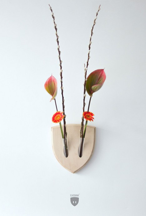 wall mounted creative flowers