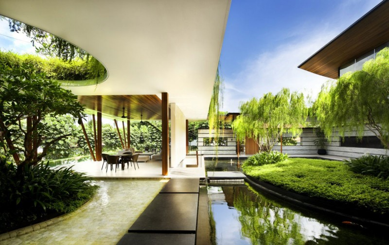 Modern Roof Boundaries Design Singapore