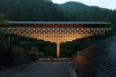 wooden architecture bridge 1