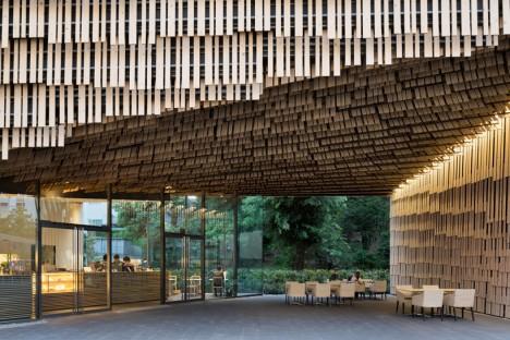 wooden architecture daiwa 1
