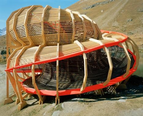 wooden architecture evolver 3