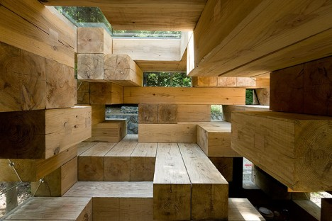 wooden architecture final house 1