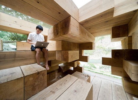 wooden architecture final house 3