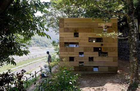 wooden architecture final house 4