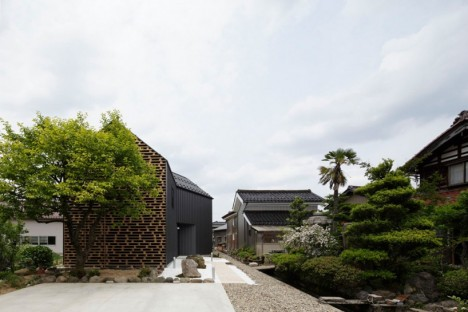 wooden architecture kaga house 2