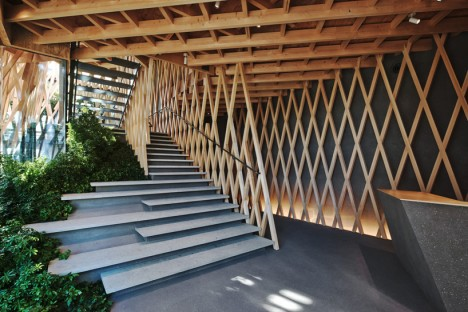 wooden architecture lattice 2 & Modern Wooden Architecture: 16 Fresh Takes on Timber | ArchiWEB 3.0
