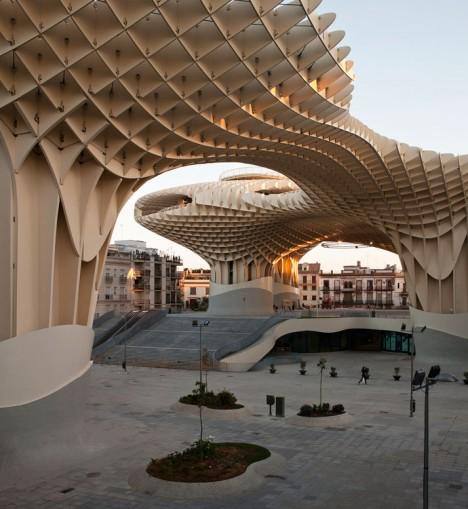 wooden architecture metropol parasol 1