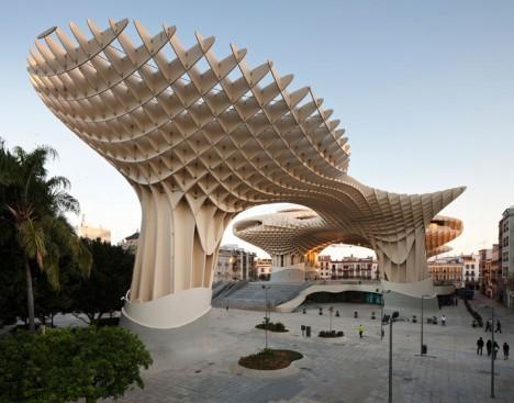 wooden architecture metropol parasol 4