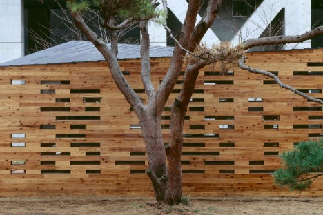 wooden architecture space lab 3