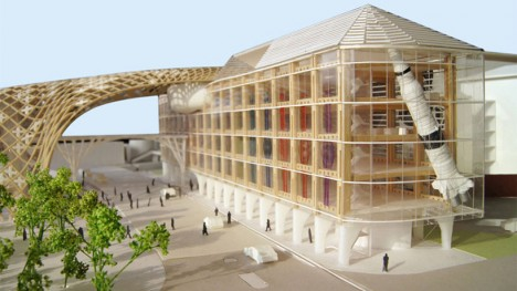 wooden architecture swatch 3