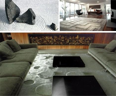 zen garden rug
