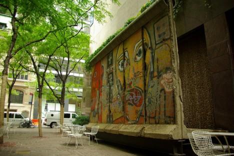NYC Secrets Paley Park Berlin Wall