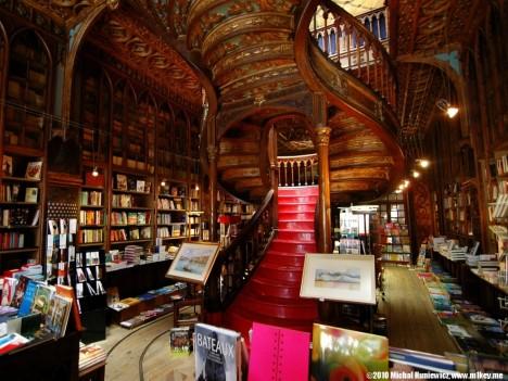 bookstores livraria lello 1