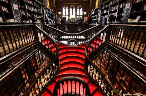 bookstores livraria lello 2