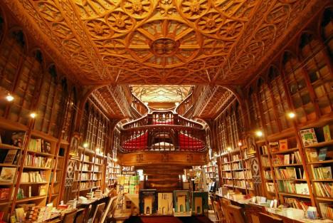bookstores livraria lello 3