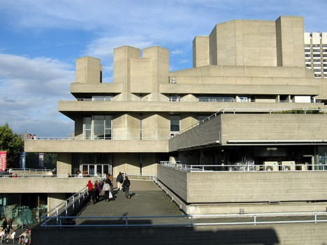brutalism US national theater london 2