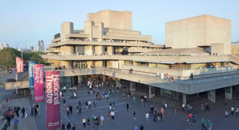 brutalism US national theater london