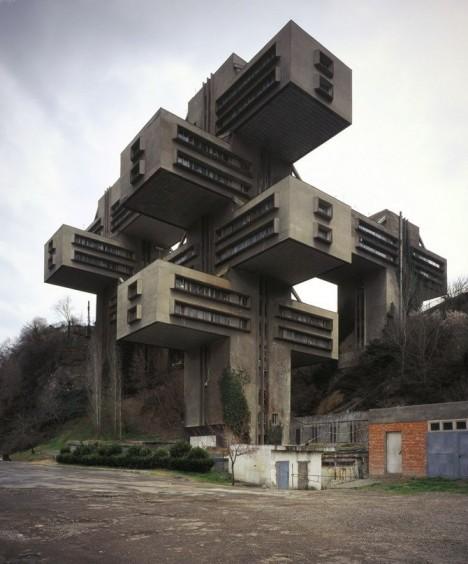 brutalist georgian ministry