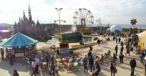 dismaland in action