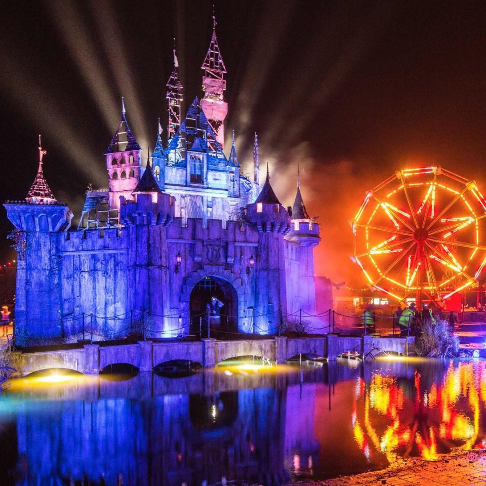 dismaland night shot