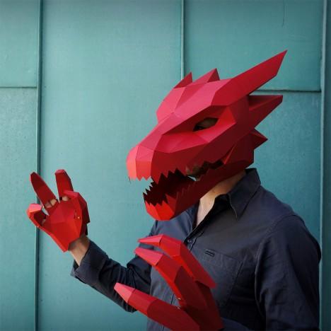diy articulated dragon