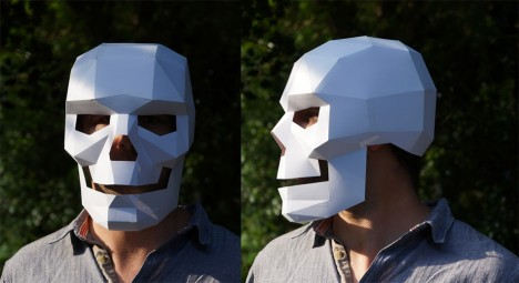 diy skeleton paper cardboard
