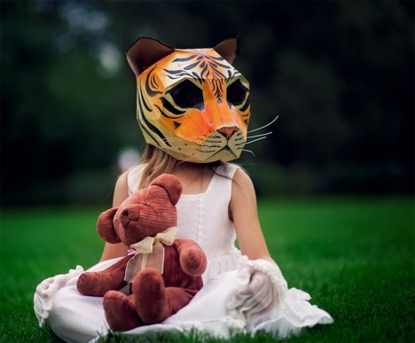diy tiger head