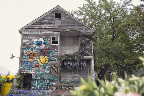 florist abandoned house project
