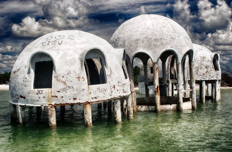 freaky florida dome houses