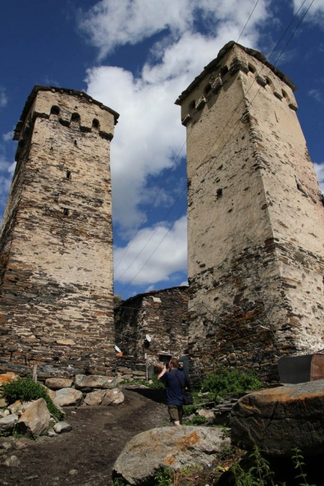 georgia fortified farm towers