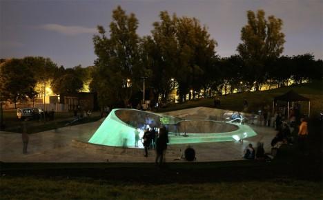 glow skate park uk